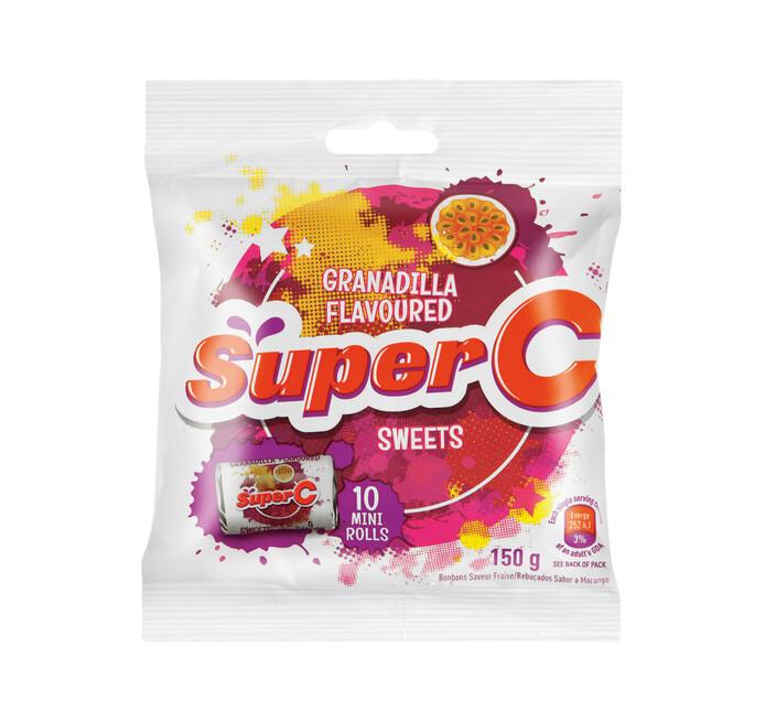 Super C Candy Mini Roll Granadilla (1 x 150g)