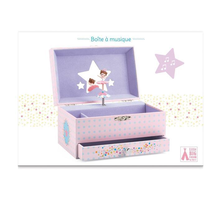 Djeco Wooden Musical Box- The Ballerina's Melody