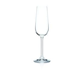BOHEMIA CRYSTAL CLARA FLUTE GLASS 6PK