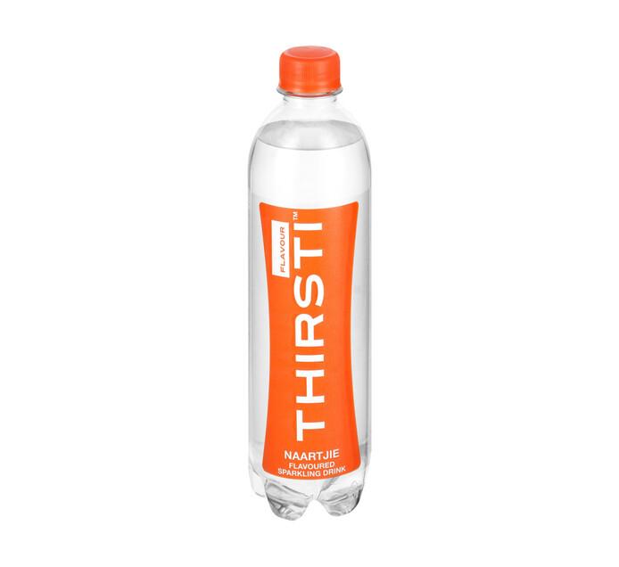 Thirsti Sparkling Flav Water Naartjie (6 X 500ml)