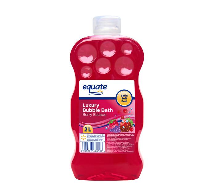 EQUATE Bubble Bath Berry Escape (1 x 2lt)