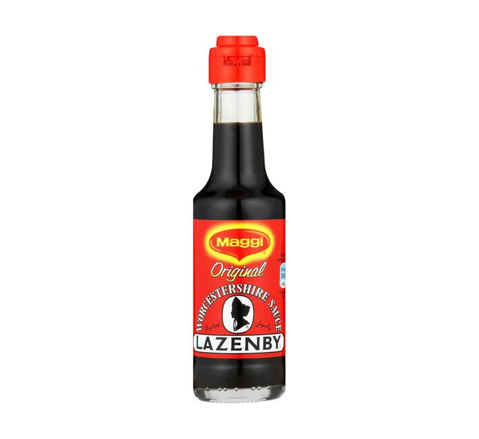 Maggi Lazenby Worcester Sauce Original (6 x 125ml)