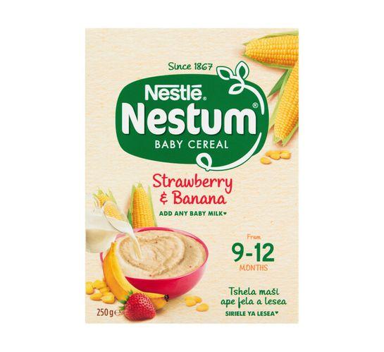 Nestle Nestum Infant Cereal Banana and Strawberry (6 x 250g)