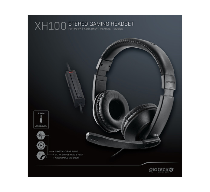 Gioteck Multi-Platform Gaming Headset - Wired