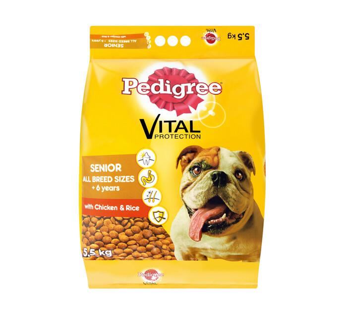 PEDIGREE Senior Dry Dog Food Chicken And Rice (1 x 5.5kg)