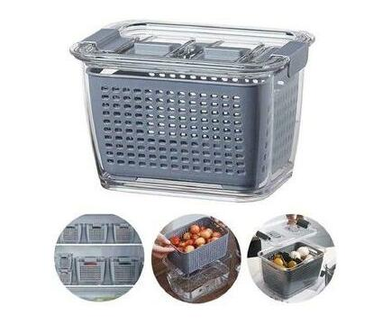 Maisonware 3 in 1 Refrigerator Storage Container - Set of 3
