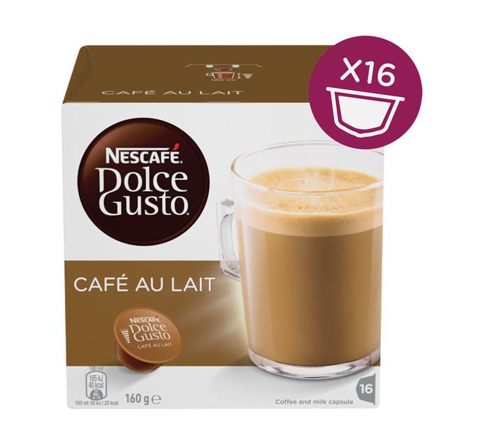 Nescafe Dolce Gusto Coffee Pods Cafe Au Laite (1 x 200g)