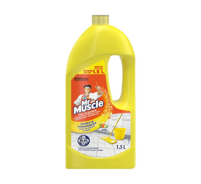 Mr Muscle Tile Cleaner Citrus Orchid (1 x 1.5l)