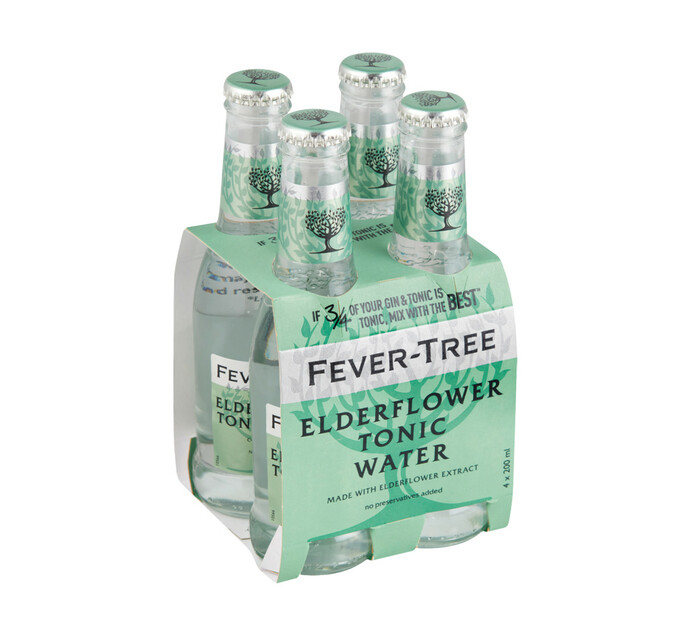 Fever Tree Elderflower Tonic NRB (4 x 200ml)