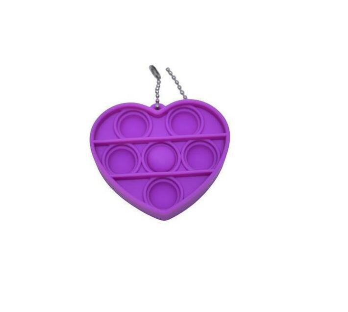 Poppet Fidget Toy (Heart Purple)