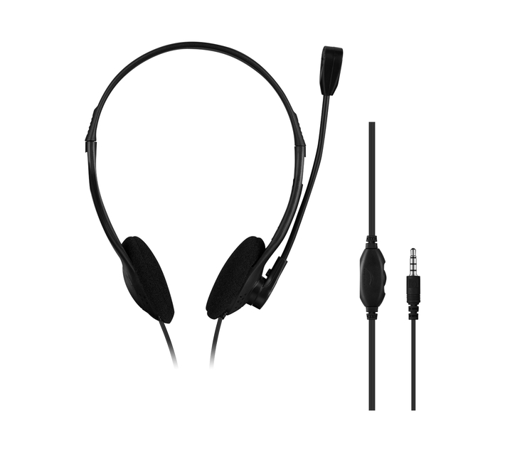 Volkano Chat 2 Aux Series Stereo Headset with Microphone