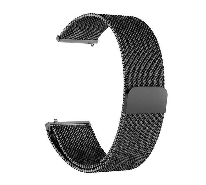 Zonabel Fitbit Versa Milanese Strap - Black (Large)