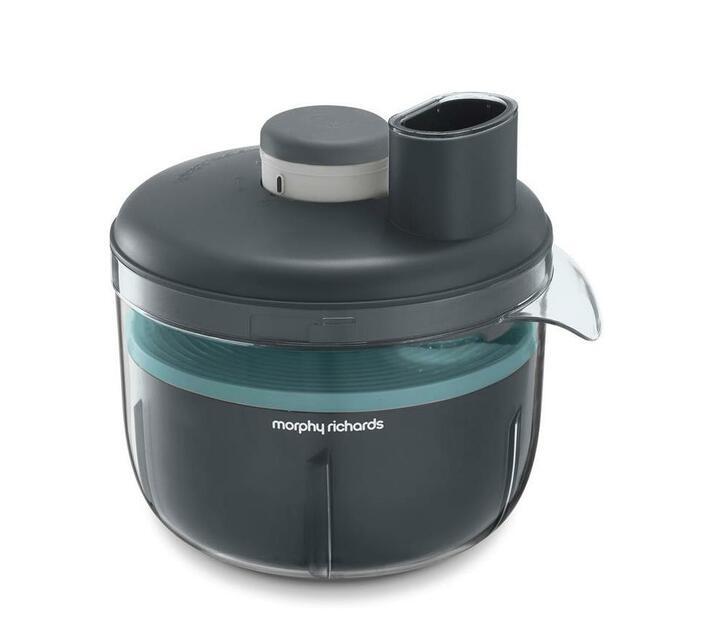 "Morphy Richards Food Processor Variable Speed Plastic Grey 4L 210W ""Prepstar"""