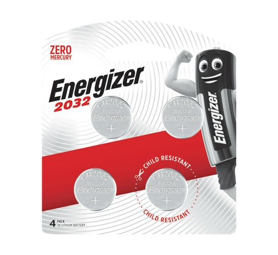 Energizer Coin Batteries 4-Pack
