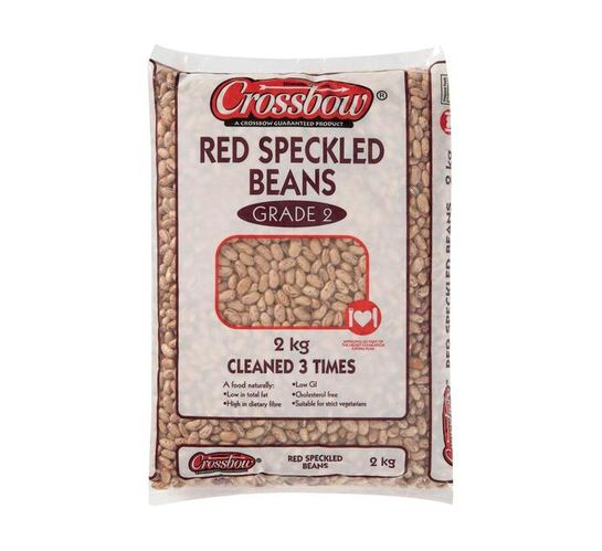 CROSSBOW RED SPECKLED BEANS 2KG