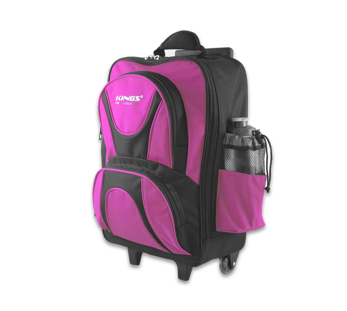 Kings Trolley Pre-Primary Backpack (Size: Small) - Pink 2557