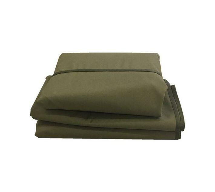 Patio Solution Covers Gas Braai Cover Medium - Olive Ripstop UV 260grm