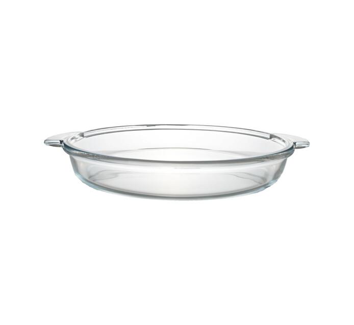 GUZZINI GLASS OVEN DISH ROUND 35CM