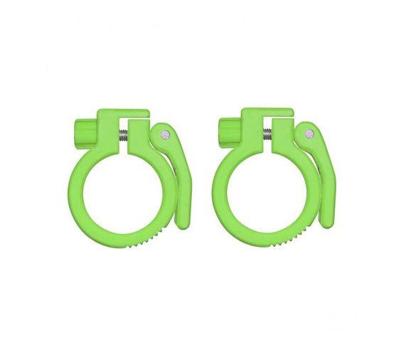 Rebel Bear Grip Olympic Bar Collar - Lime