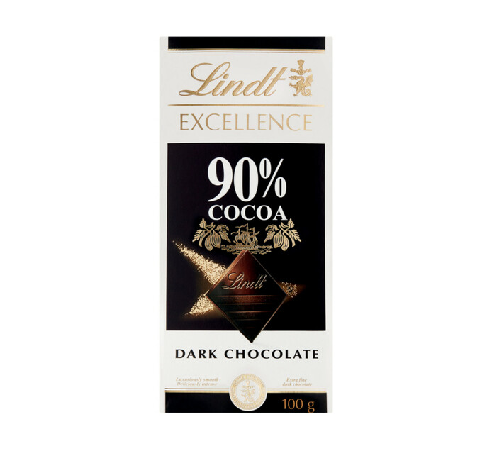 Lindt Excellence Slabs Dark 90% (1 x 100g)