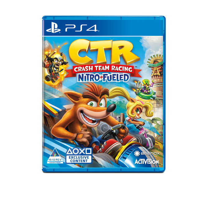PS4 Crash Team Racing Nitro-Fueled