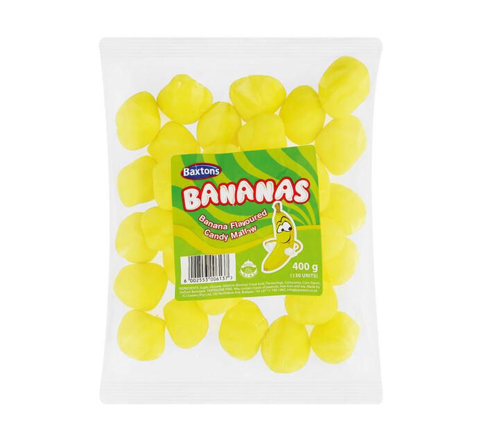 BAXTONS Candy Mallow Banana (1 x 400g)