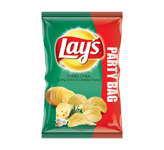Lays Potato Chips Spring Onion and Cheese (1 x 200g)