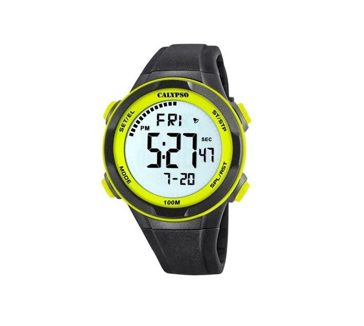 Calypso Analog Mens Sporty Green Watch - Digital for Mens