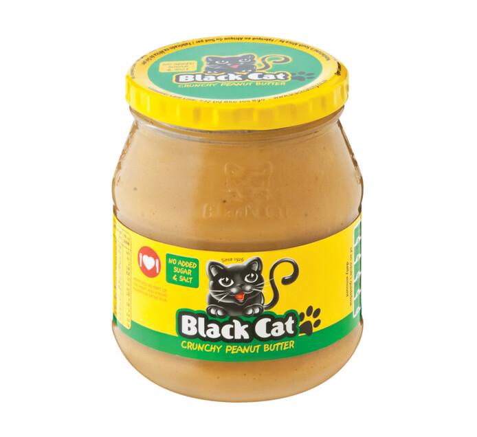 BLACK CAT P/NUT BUTTER NO S&SALT400G,CRU