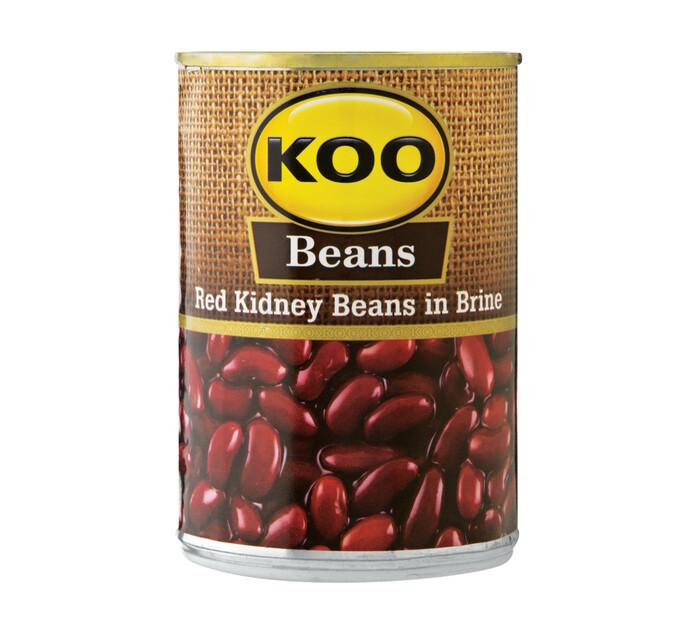 KOO Kidney Beans Red (1  x 410g)
