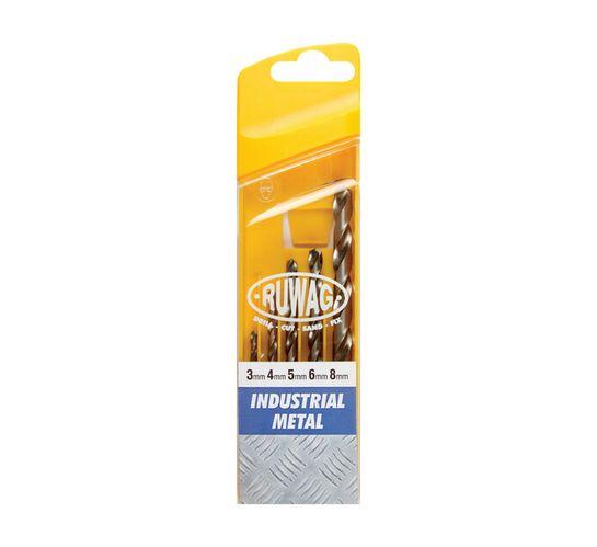 Ruwag 5PCE Ruwag Industrial Metal Drill Bit