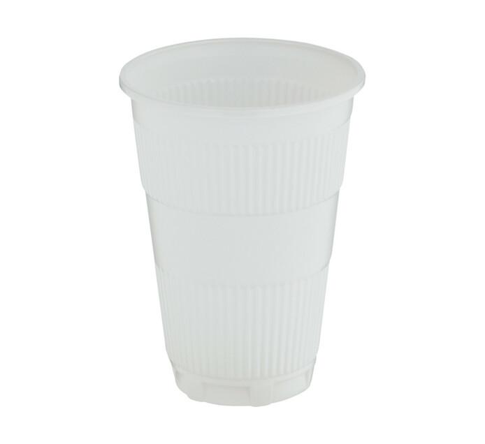 ARO Plastic Cups White 350ml (1 x 50's)