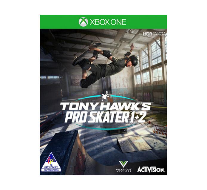 XBOX ONE TONY HAWKS PRO SKATER 1+2
