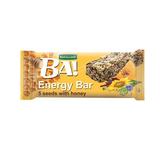 Bakalland Energy Bar 5 SEED & HONEY (1 x 40g)