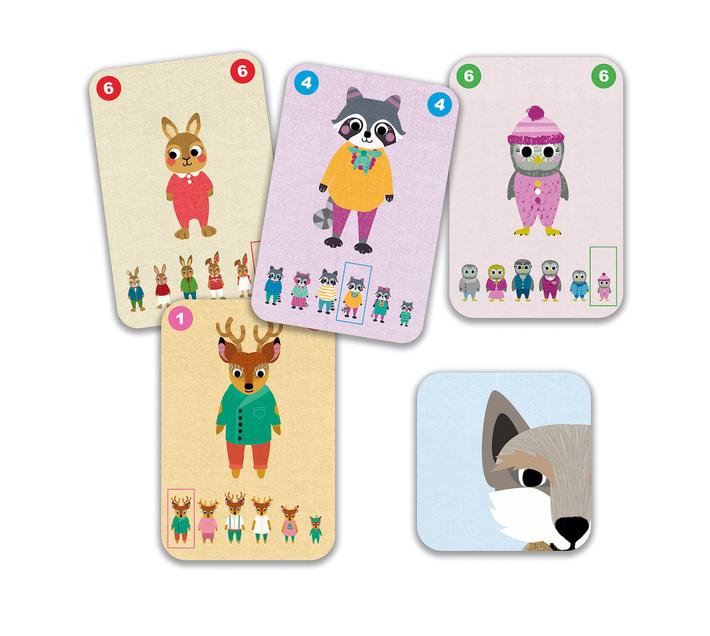 Djeco Card Game: Happy Family - Familou