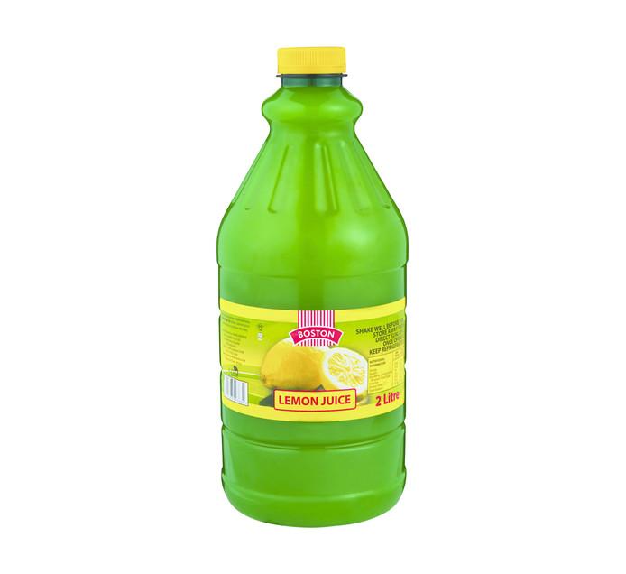 Boston Lemon Juice (1 x 2L)