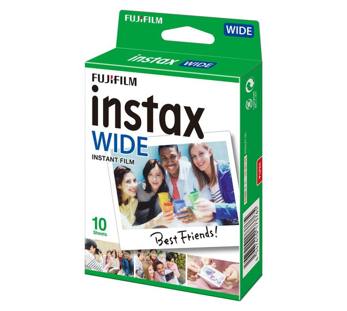 INSTAX Film Wide (10 Sheets) White