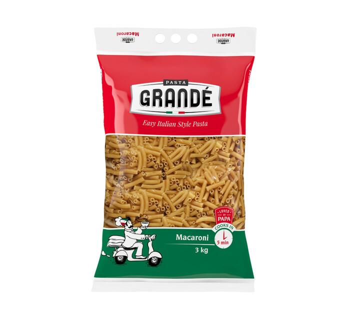 PASTA GRANDE Macaroni (1 x 3kg)