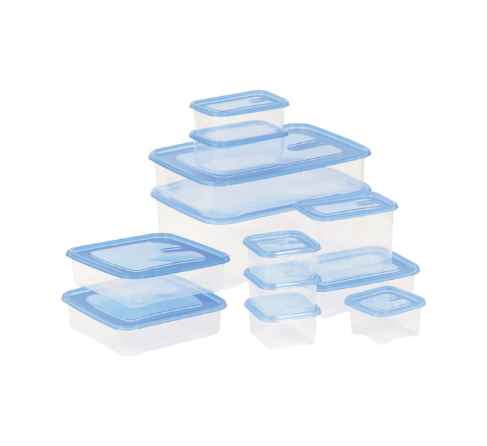 Addis 24-Piece Fresh Stuff Food Container Set plus Wooden Board
