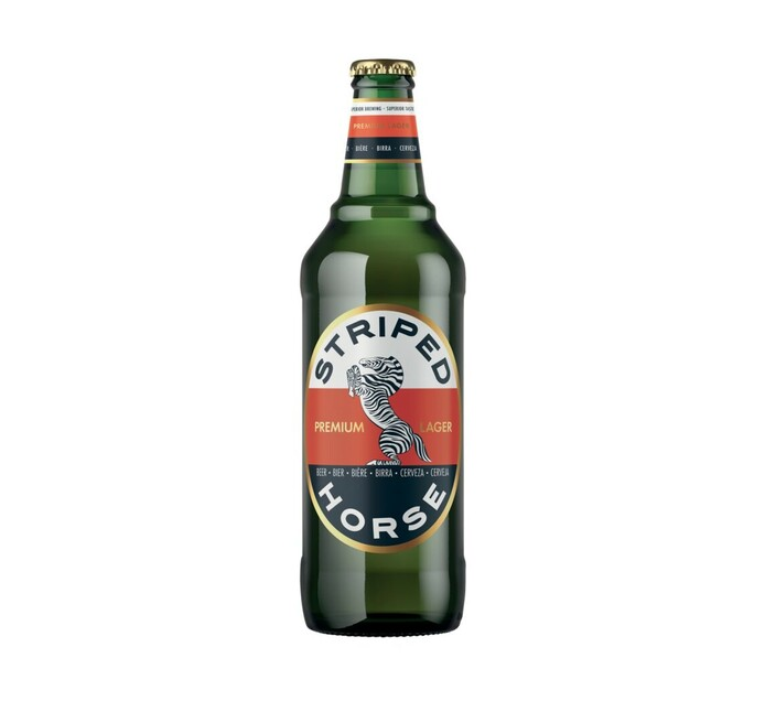 Striped Horse Lager NRB (12 x 600ml)