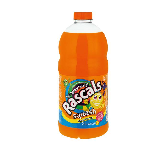 Rascals Squash Concentrate Orange (2lt)