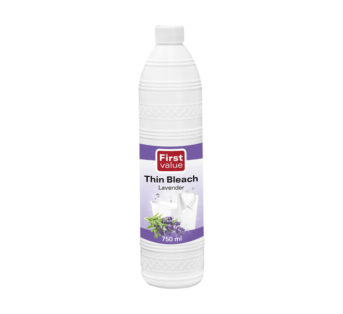 First Value Thin Bleach Lavender (1 x 750ml)