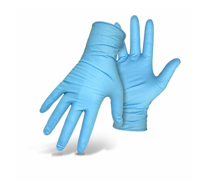 Pack Of 100 -Nitrile Powder Free gloves -Large
