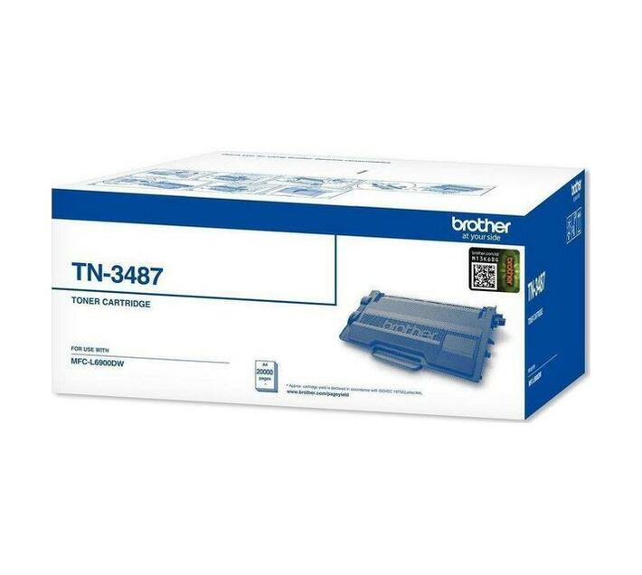 Original Brother TN3487 Black Toner Cartridge