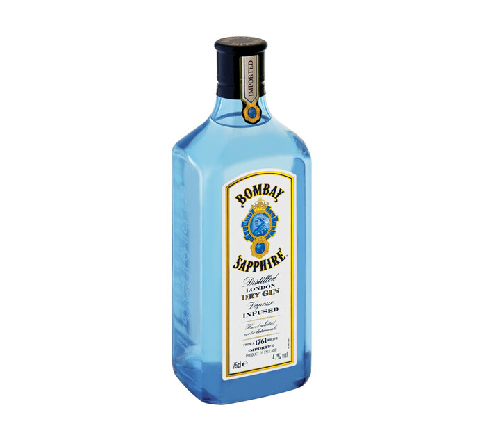 Bombay Sapphire Imported Gin (1 x 750 ml)