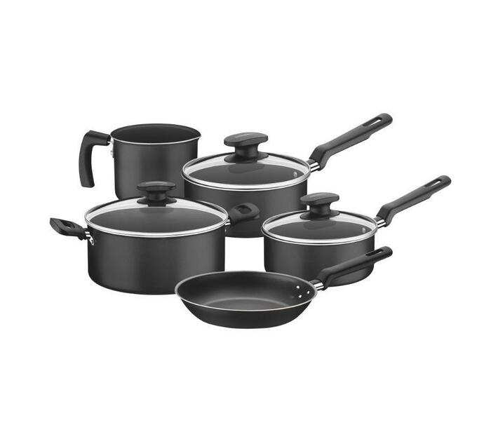 Tramontina 5 Pieces Aluminum Cookware Set, Loreto Range, Internal Non-Stick Coating