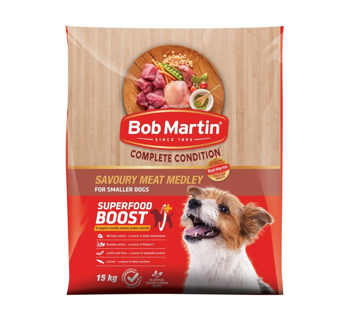 BOB MARTIN Complete Condition Savoury Meat Medley (1 x 15kg)