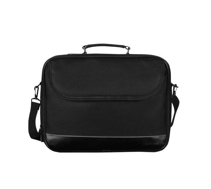 Connex 14.1 Laptop Shoulder Bag - Black