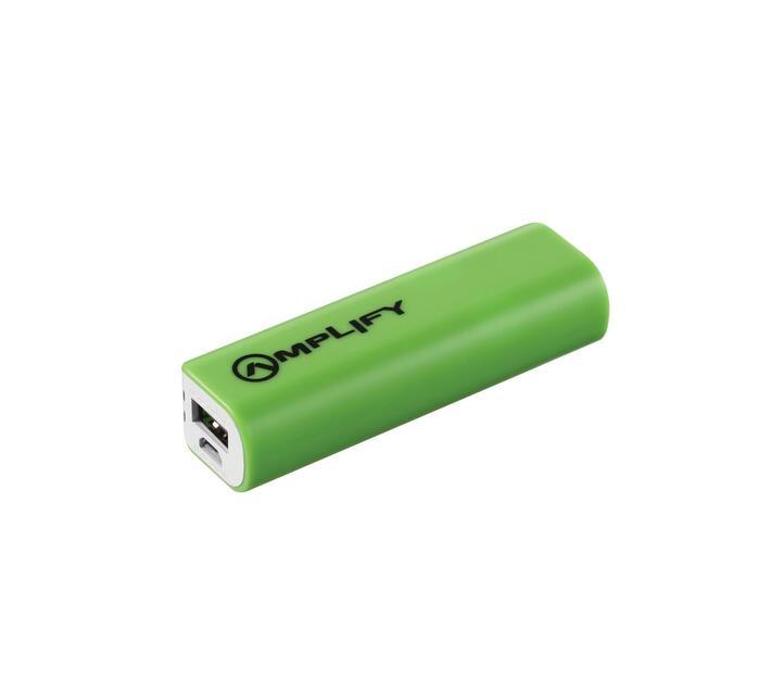 Amplify Verve Series 2000mAh Powerbank - Green/White