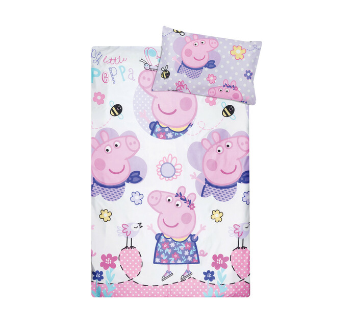 Character Single Duvet Cover Peppa Pig